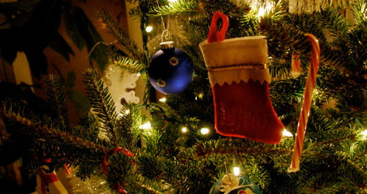 Christmas tree Flickr photo by wolfsavard