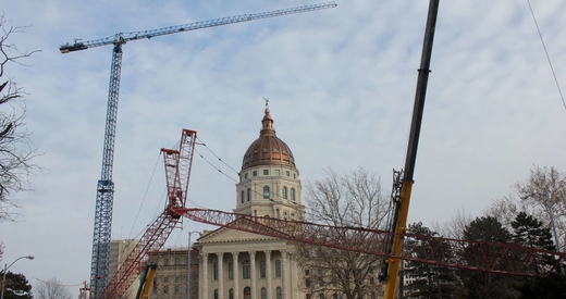 Statehouse cranes - small