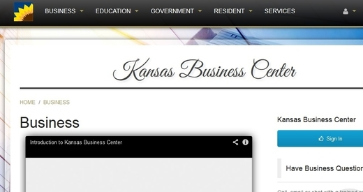 State Unveils New Kansas Business Website
