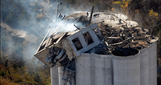 Atchison grain explosion AP photo