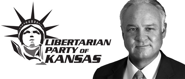 Libertarian Umbehr Runs Long-Shot KS Gov Campaign