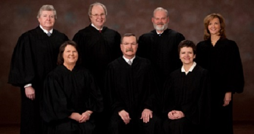 Governor Backs Ouster of 2 Kansas High Court Justices