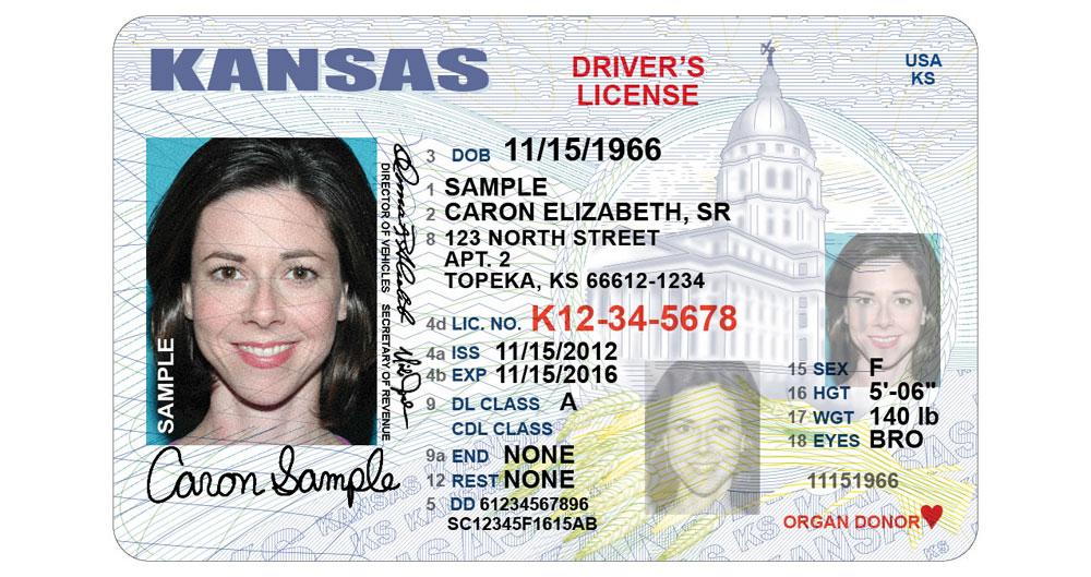 Kansas Rolls Out New Driver S License Design Kansas
