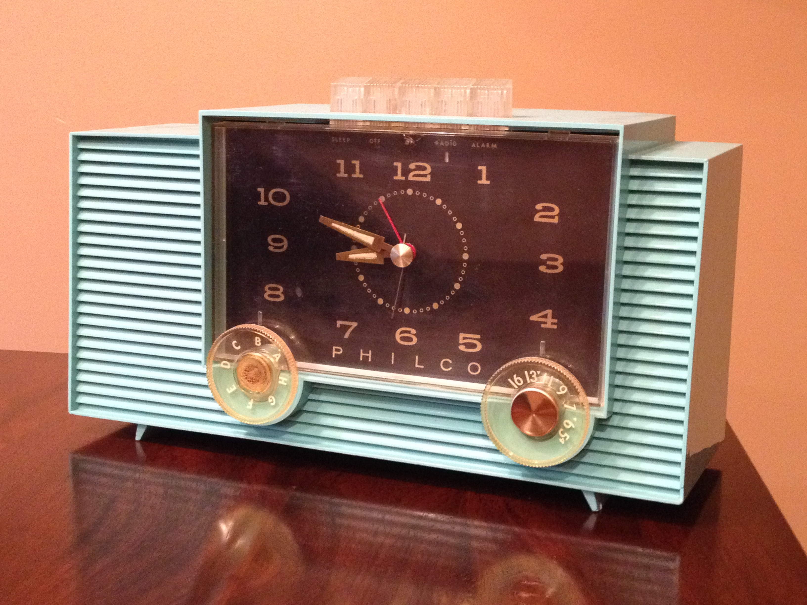These radio's are from the KPR radio museum, curated by KPR News Director J. Schafer.