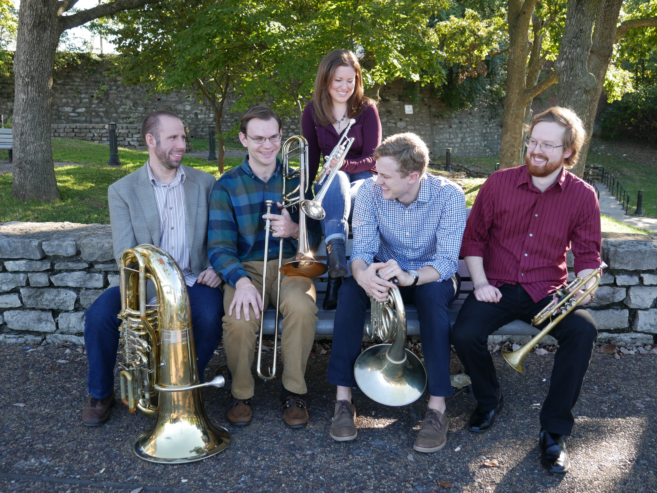 9-10 AM - Ångström Brass Quintet led by Patrick Doyle, Kansas City (studio)