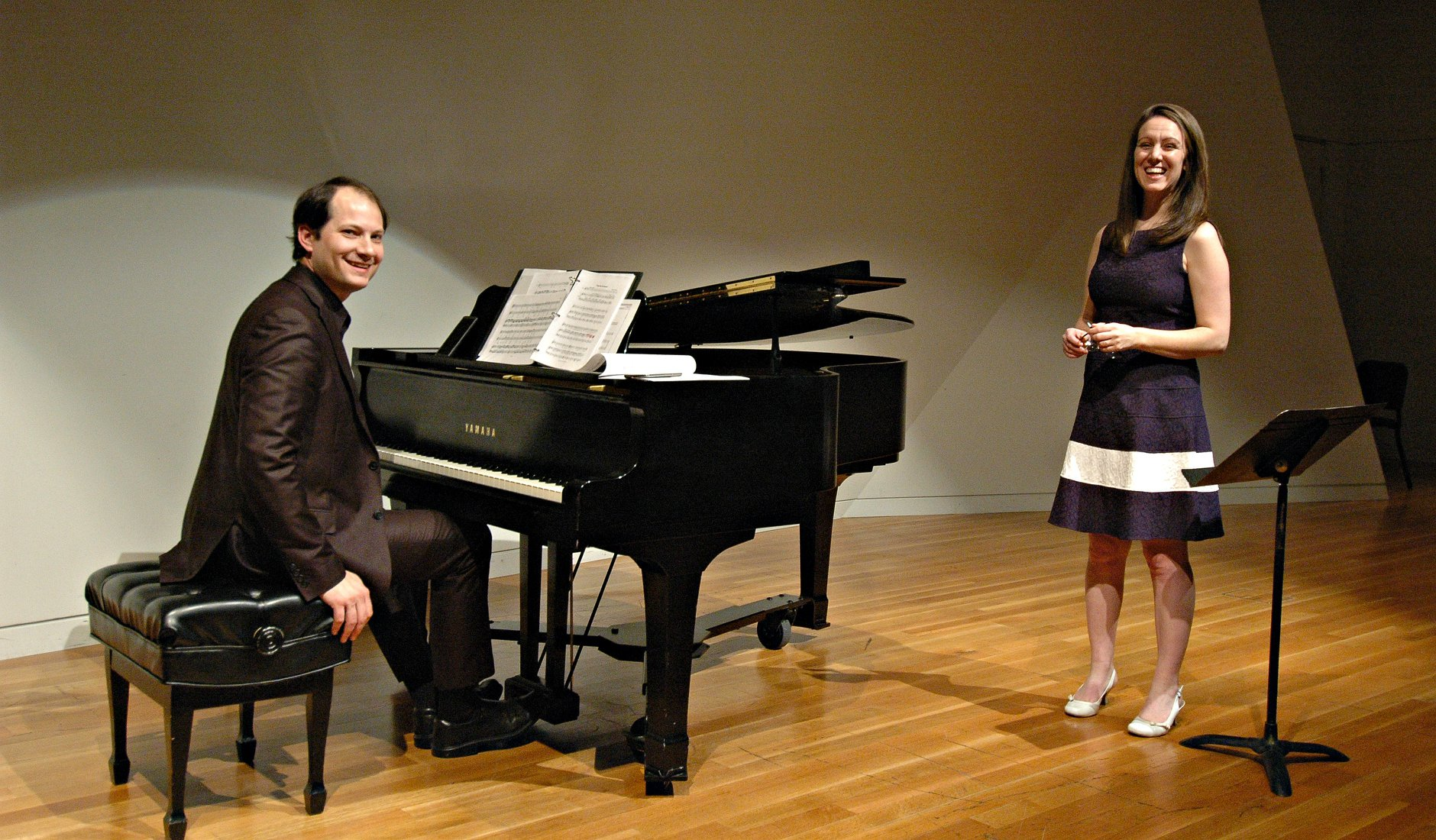 Jen Stephenson, soprano, and J. Bradley Baker, piano