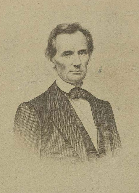 In 1859, Lincoln traveled to the Kansas Territory and spoke at Elwood, Troy, Doniphan, Atchison and Leavenworth. Although Kansans liked him, the delegation from the territory did not support his nomination. (Photo Courtesy of Kansas Historical Society/kansasmemory.org)