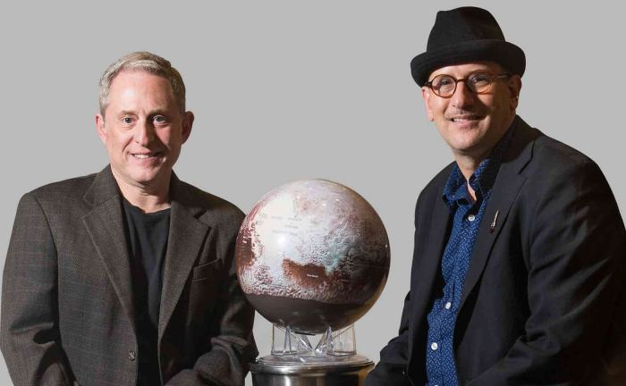 Alan Stern and David Grinspoon, co-authors of Chasing New Horizons (Photo courtesy of Picador USA)