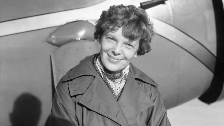 "Amelia Earhart was tall and slim, with short, wavy hair.  She looked remarkably like aviator Charles Lindbergh that she could have been his sister.  This led to her nickname - ""Lady Lindy."""