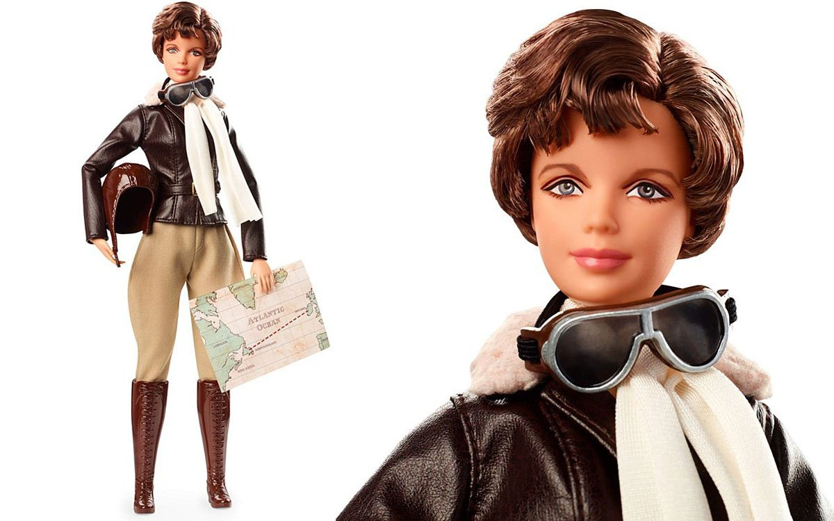 Mattel recently announced it was creating a new Amelia Earhart Barbie doll.