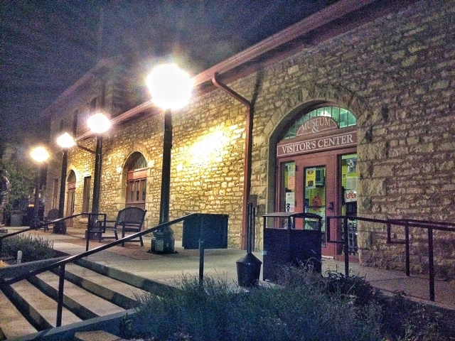 Atchison's old train depot is where the Haunted Trolley Tours begin and end. (Photo by J. Schafer)