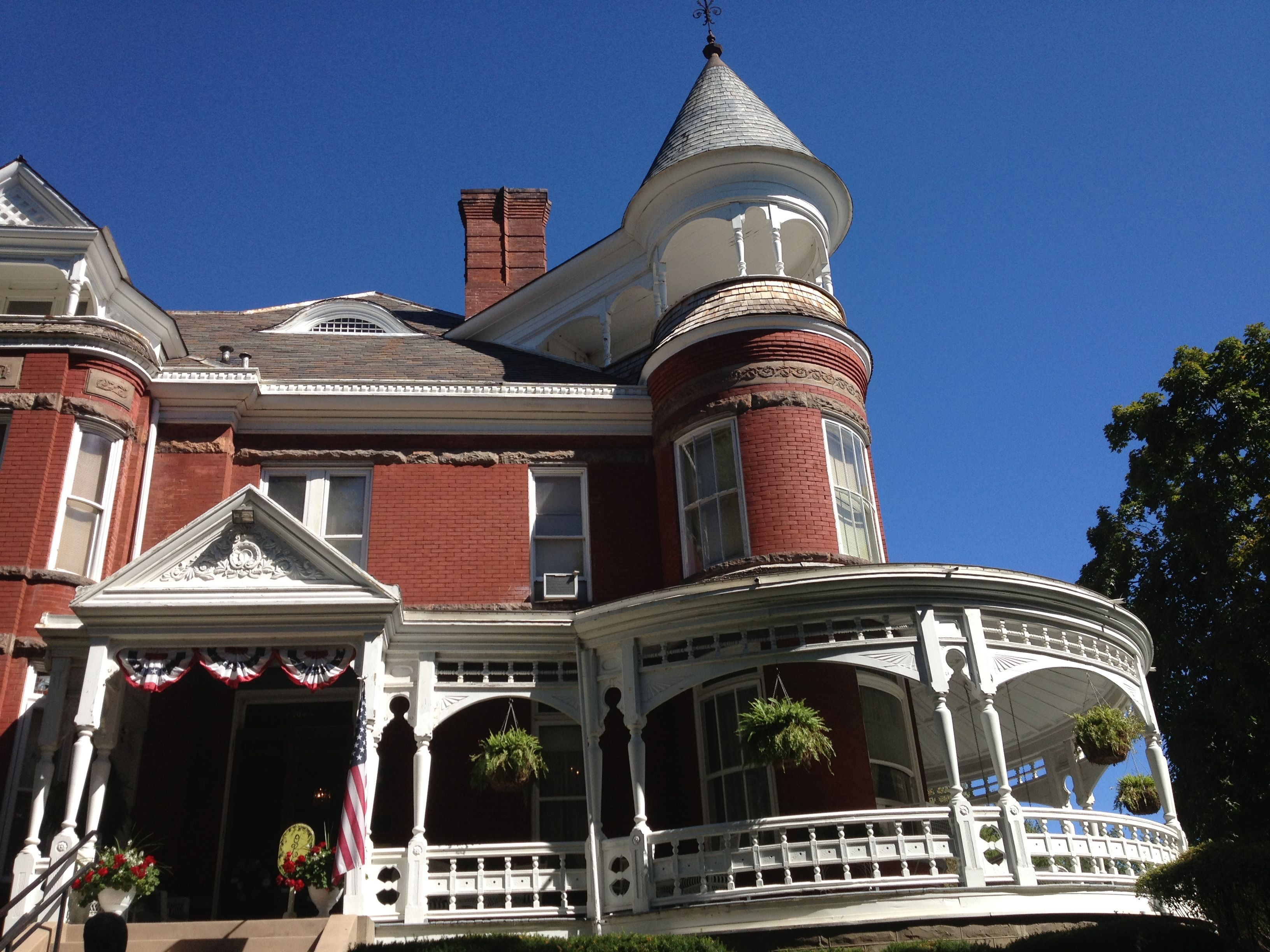 Just one of many beautiful old homes in Atchison. (Photo by J. Schafer)