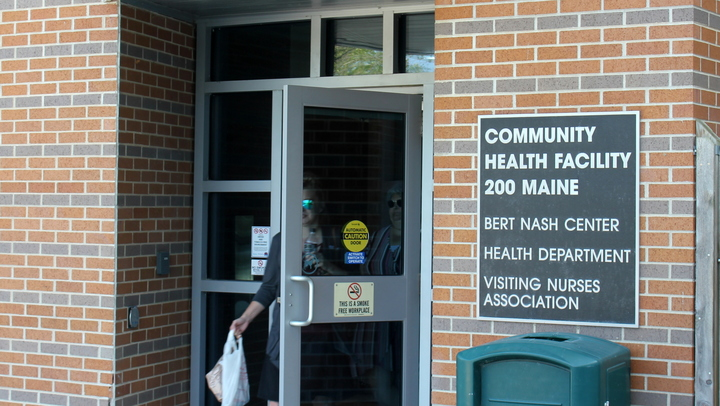 The Disability Rights Center says more people should be removed from nursing homes and served by local community mental health centers, like the Bert Nash Community Mental Health Center in Lawrence. (Photo by Stephen Koranda)