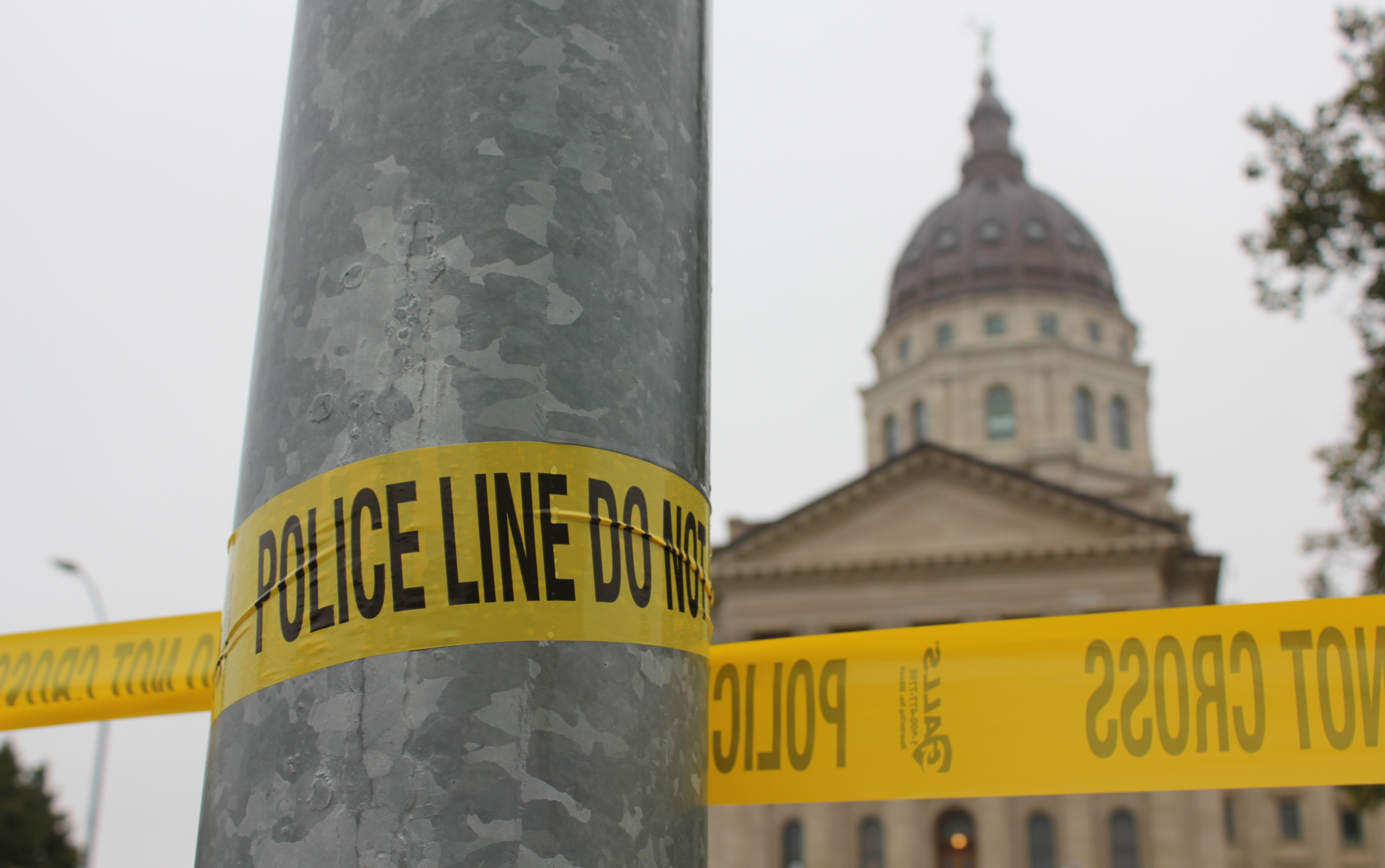 The Statehouse grounds were closed for several hours while the bomb squad investigated.