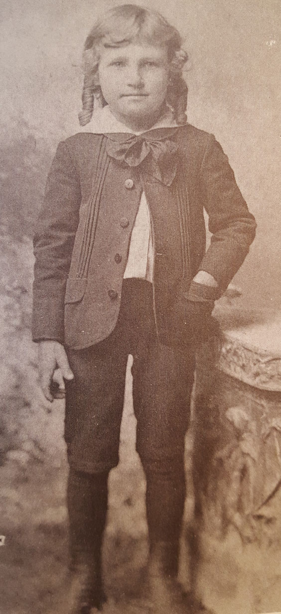 Dane G. Hansen as a boy. (Photo Courtesy of Dane G. Hansen Foundation)