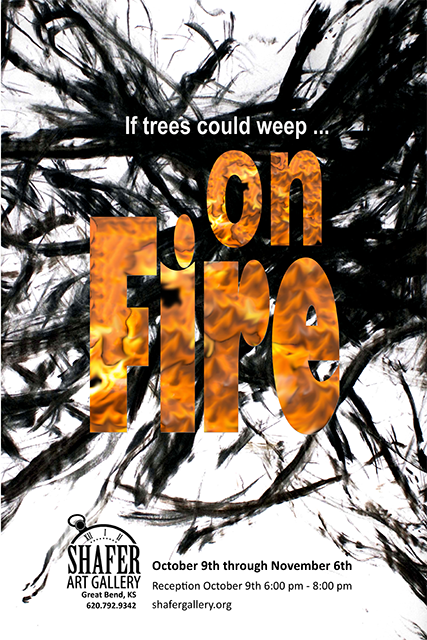 "Bently Spang ""On Fire"" exhibit October 9 through November 6"