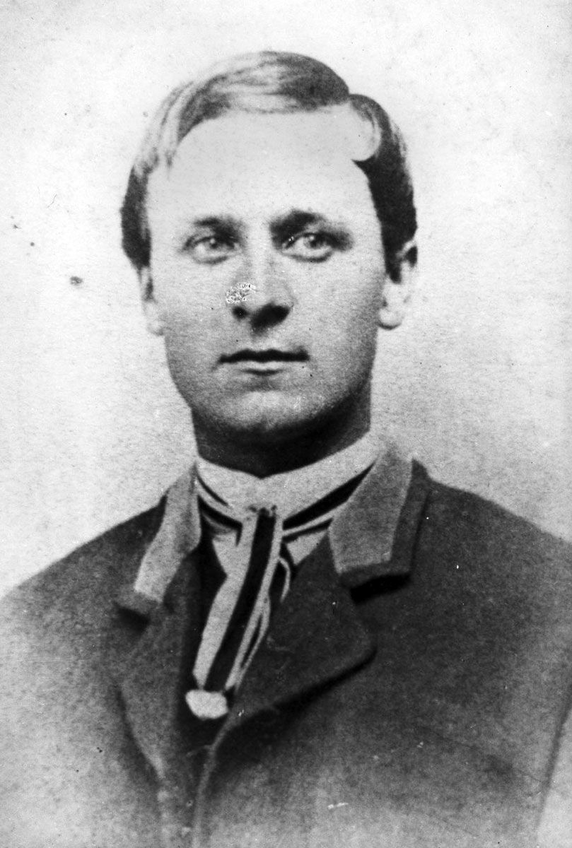 "Dan Kelley composed the song ""Home on the Range,"" using the verses from the poem ""My Western Home"" by Dr. Brewster Higley. Date: 1880s (Photo Courtesy of Kansas Historical Society / kansasmemory.org)"
