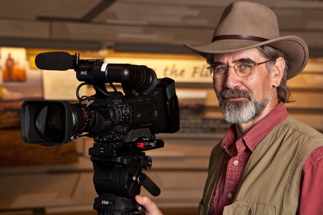 Documentarian Dave Kendall, of Prairie Hollow Productions (Photo by Michael Henry)