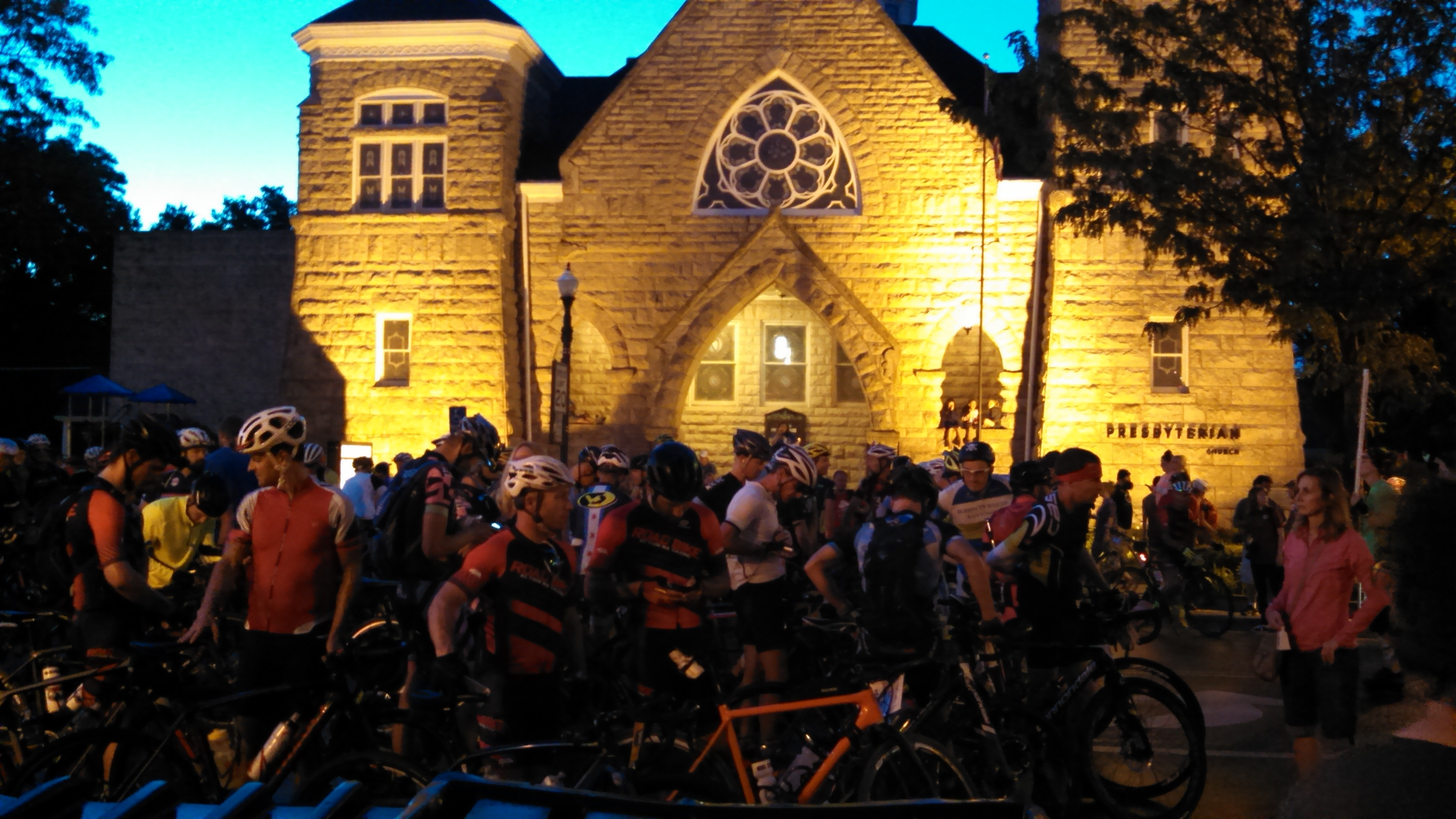 About 2,000 cyclists gathered in Emporia over the weekend for the 2016 Dirty Kanza, a grueling race through the Flint Hills. (Photo by Greg Echlin)
