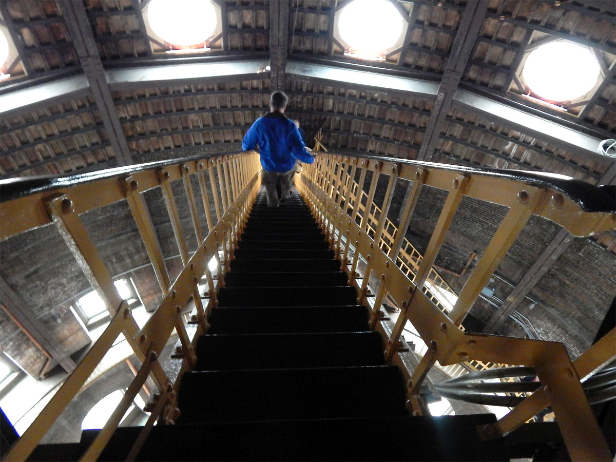 It takes 296 steps to reach the top of the dome at the Kansas Statehouse. (Flickr Photo by Mike Linksvayer)