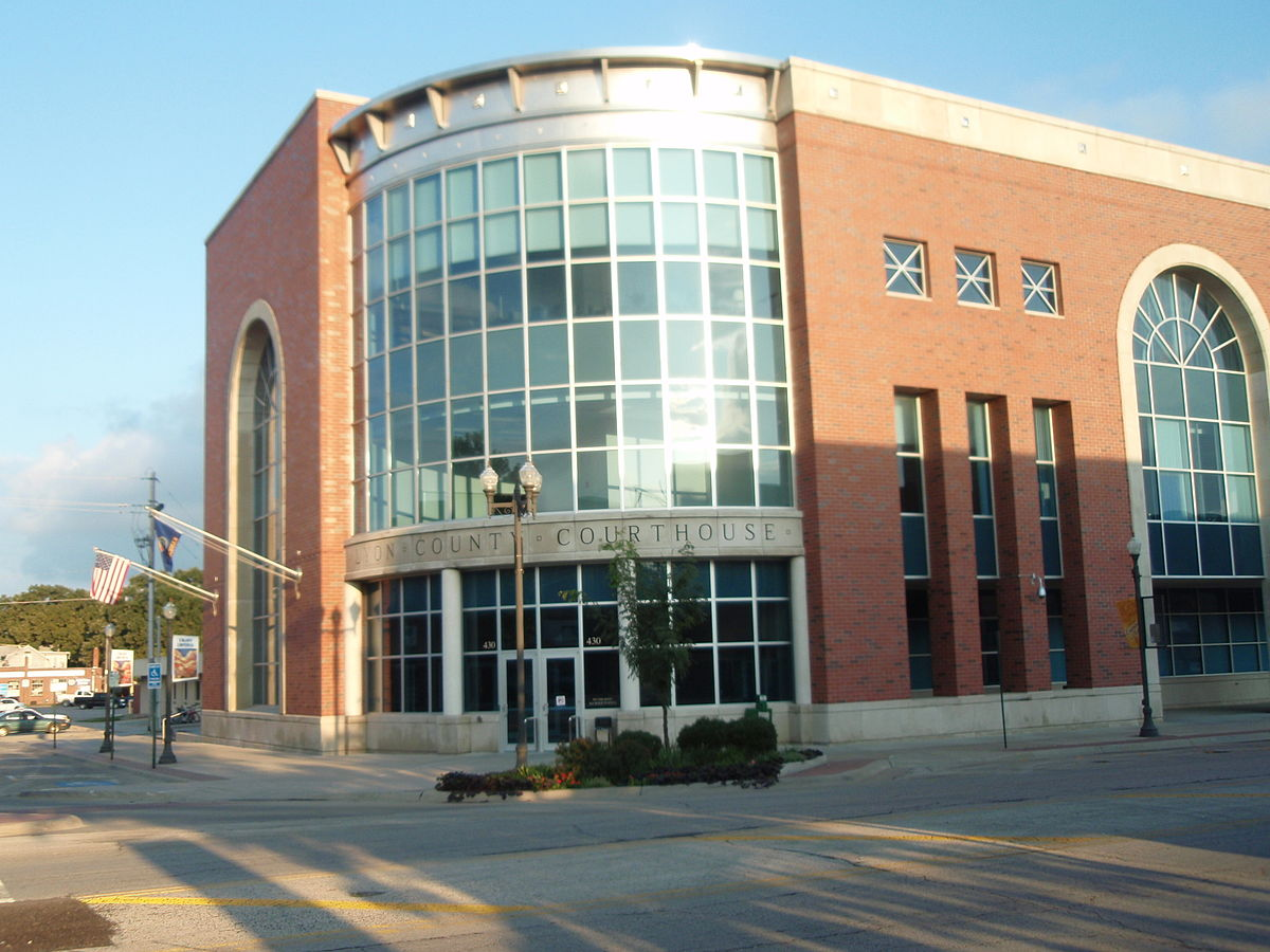 New Lyon County Courthouse in Emporia