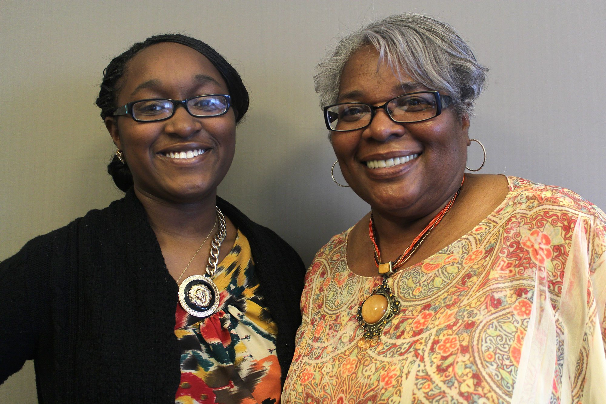 In their StoryCorps session, DaJaia James interviews her grandmother, Dr. Beryl New, and hears about the 1970 Topeka High School walkout and the challenges New faced pursuing her college education.