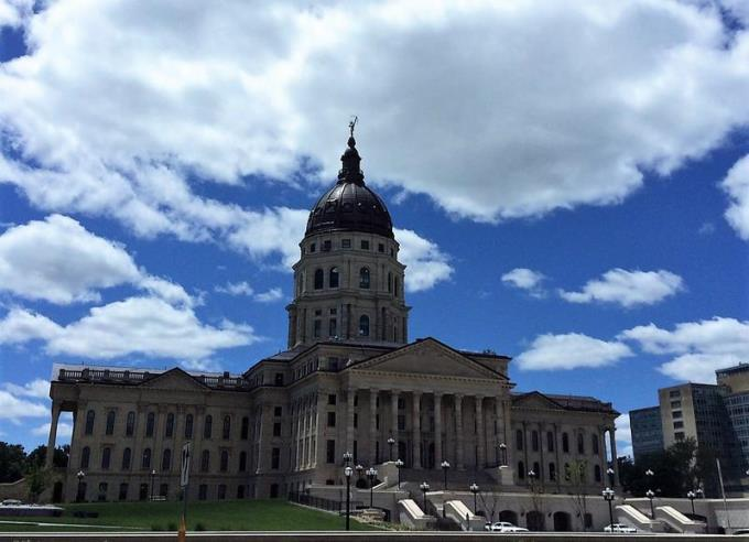 A former legislative staffer described the harassment in Topeka as rampant and cited interns mixing with lawmakers at after-hours events as a particular problem.