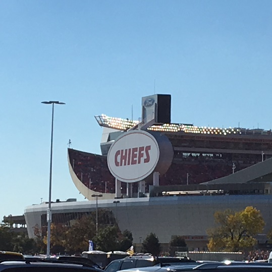 Going into Sunday's game at Arrowhead Stadium, the Chiefs were the only unbeaten team in the NFL. (Photo: Greg Echlin)