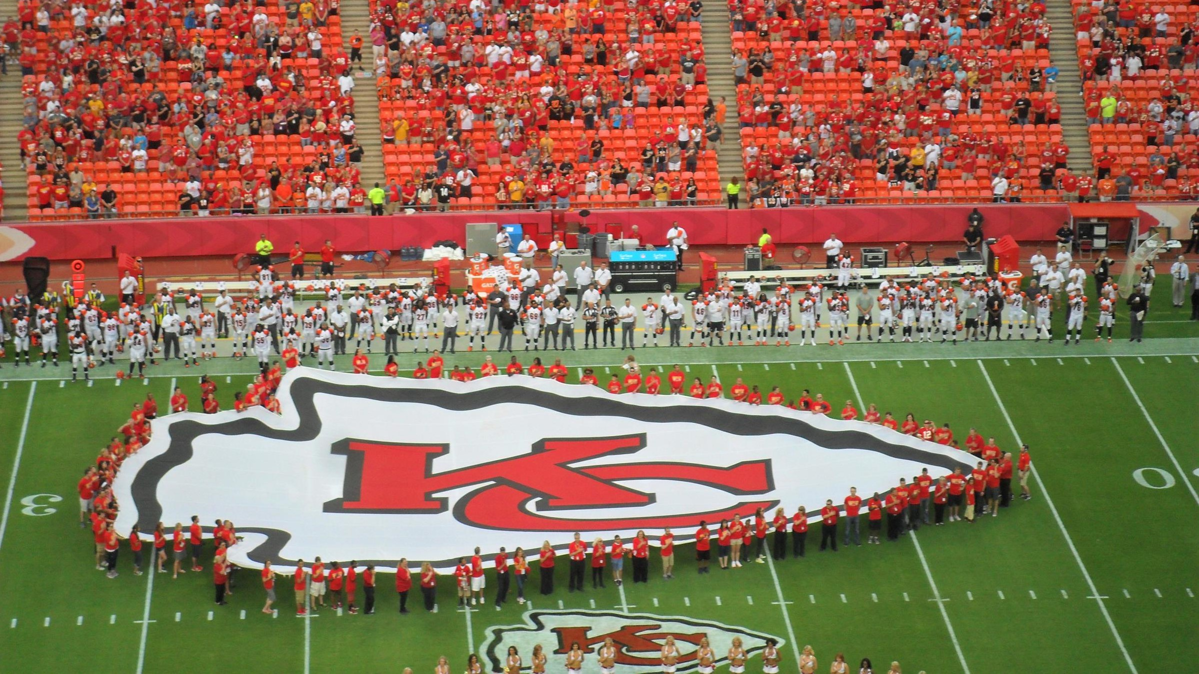 Kansans won't be able to legally bet on the Chiefs this Super Bowl, but maybe next year. (File photo by Greg Echlin)