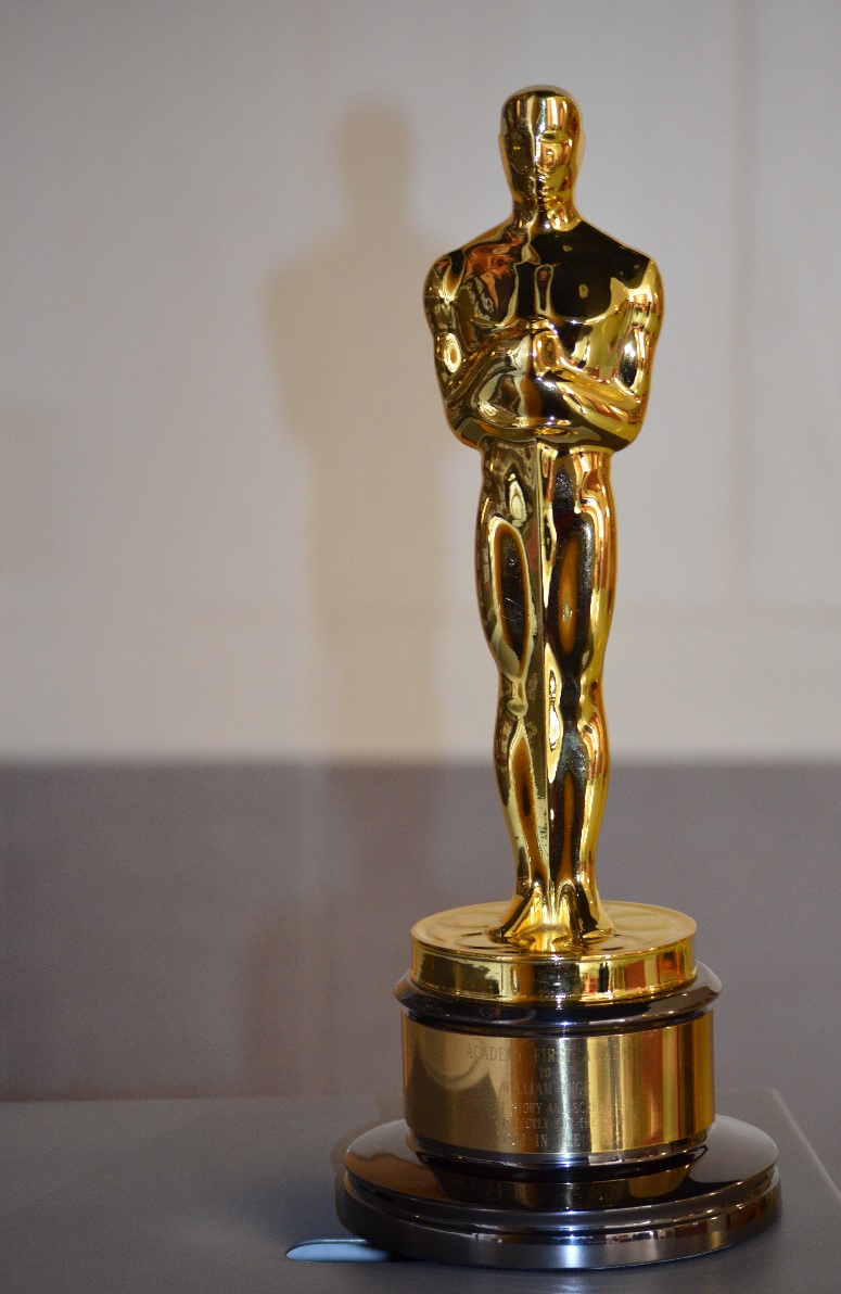 the 1961 Academy Award for Best Original Screenplay, won by William Inge, is kept at KU's Murphy Hall (photo credit: University of Kansas College of Liberal Arts and Sciences blog post)