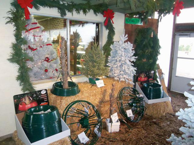 items for sale at the Delp Christmas Tree Farm (photo credit: Delp Christmas Tree Farm Facebook page)
