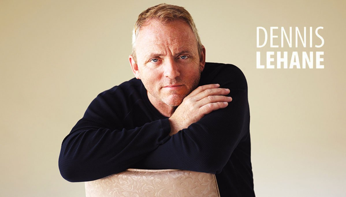 Author, director and actor Dennis Lehane speaks Saturday at the Free State Festival in Lawrence.