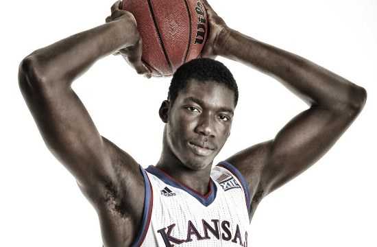 KU basketball player Cheick Diallo (Photo Credit: University of Kansas Athletics)