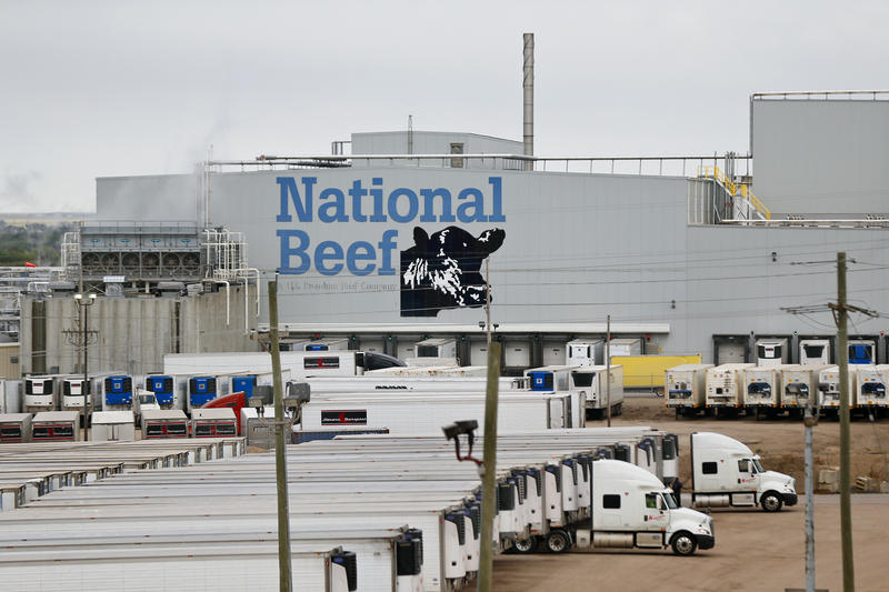 The cattle business gave birth to Dodge City, and sustains it at an industrial level today. (Photo by Chris Neal / Kansas News Service)