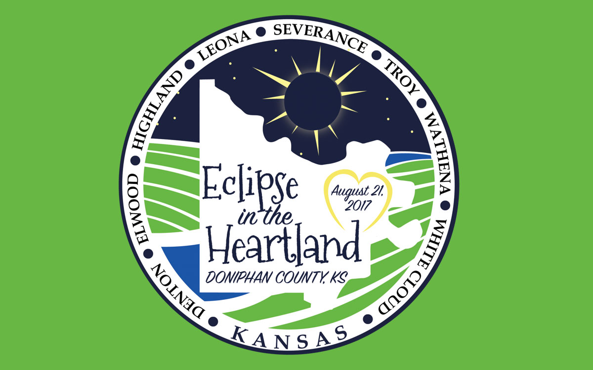 Doniphan County, in extreme northeastern Kansas, is celebrating the total solar eclipse with events and activities on Sunday, August 20, and Monday, August 21 (day of eclipse).