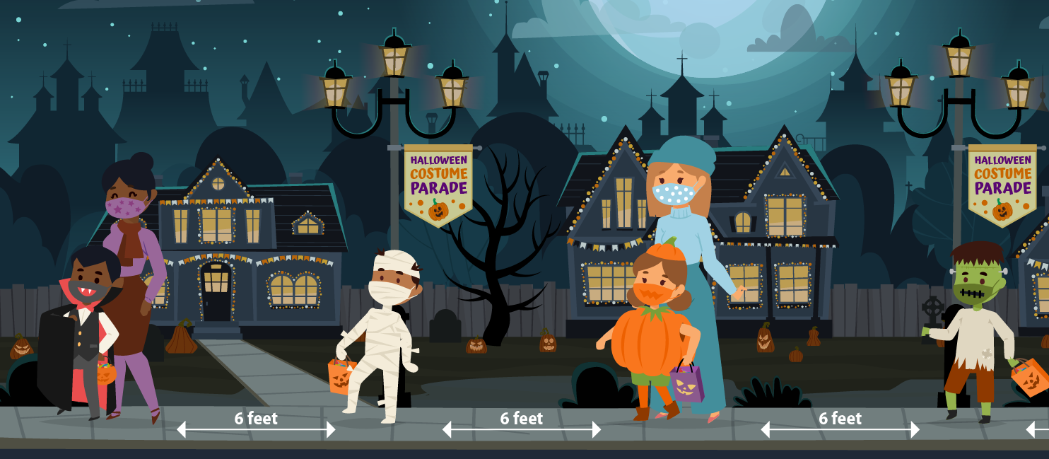 Health experts recommend skipping door-to-door Trick-or-Treating during the pandemic but offer guidance on other types of Halloween fun.