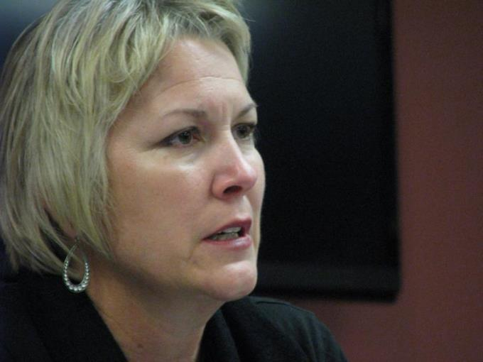 Lieutenant Governor Jeff Colyer will name Gina Meier-Hummel to head the Department for Children and Families. (Photo Credit: Dave Ranney, KHI News Service)
