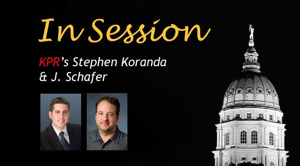 KPR Statehouse Reporter Stephen Koranda (left) and KPR News Director J. Schafer (right)