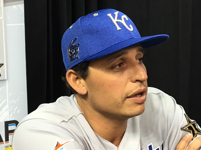 The Royals Jason Vargas leads the American League with 12 wins. (Photo: Greg Echlin)