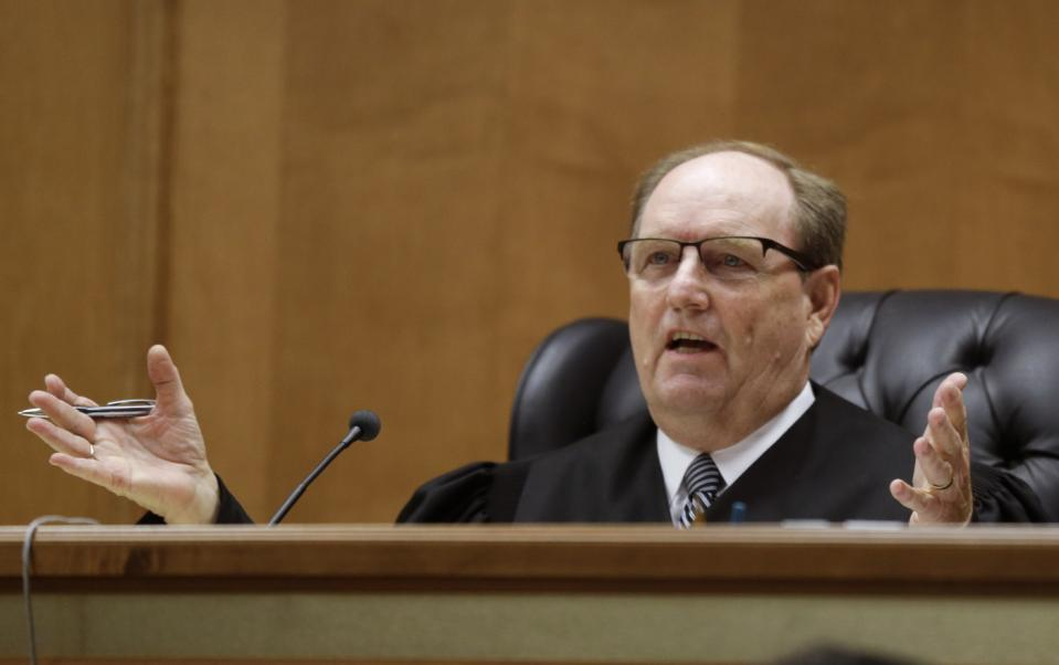 Judge Larry Hendricks (Image credit: AP photo/Orlin Wagner)