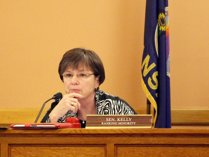 Democratic state Senator Laura Kelly, of Topeka, has filed paperwork ahead of a bid for Kansas governor.