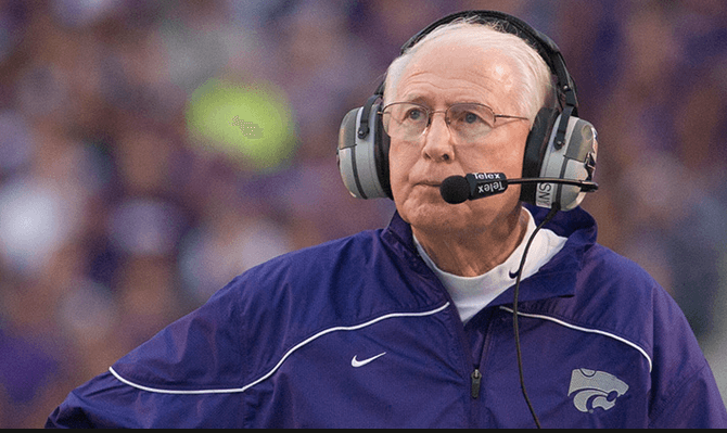 K-State head football coach Bill Snyder (Photo by K-State Athletics)