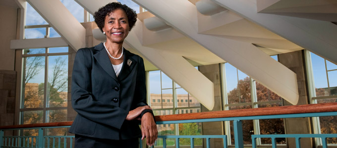 KU Chancellor Bernadette Gray-Little (File photo from University of Kansas)