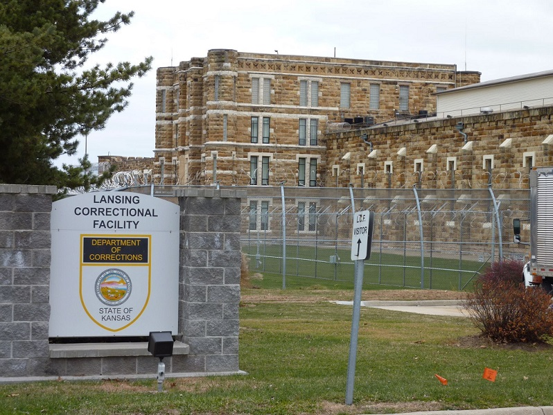 Four inmates and two employees have died of COVID-19 at the Lansing Correctional Facility. (File Photo: KMUW Radio)