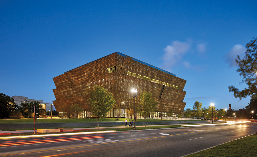 National Museum of African American History and Culture in Washington, D.C. (Photo from www.architecturalrecord.com)