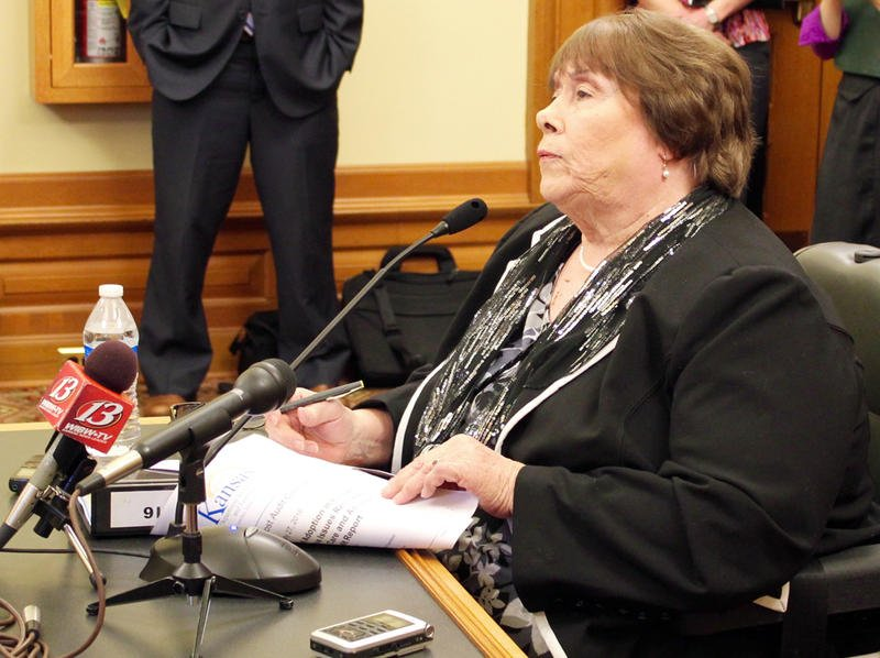 Kansas DCF Head Phyllis Gilmore (Kansas News Service file photo)