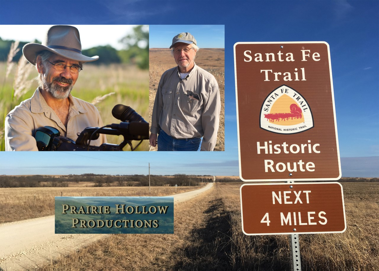 Dave Kendall and Rex Buchanan have been working on a documentary about the 200 year history of the Santa Fe Trail, which will premiere later this year.  .