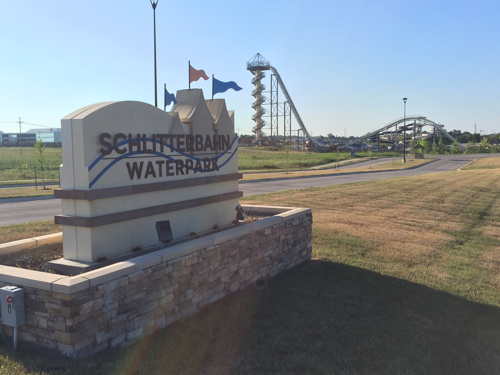 Schlitterbahn, the water park in Kansas City, Kansas, is for sale.  (Photo by J. Schafer)