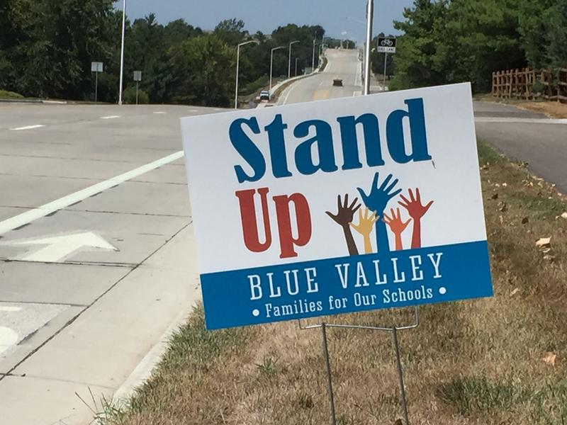 Grassroots organizations in Johnson County, like Stand Up Blue Valley, are multiplying and starting to plot how they will elect more moderate Republicans and Democrats to the Kansas Legislature. (File photo from KCUR)