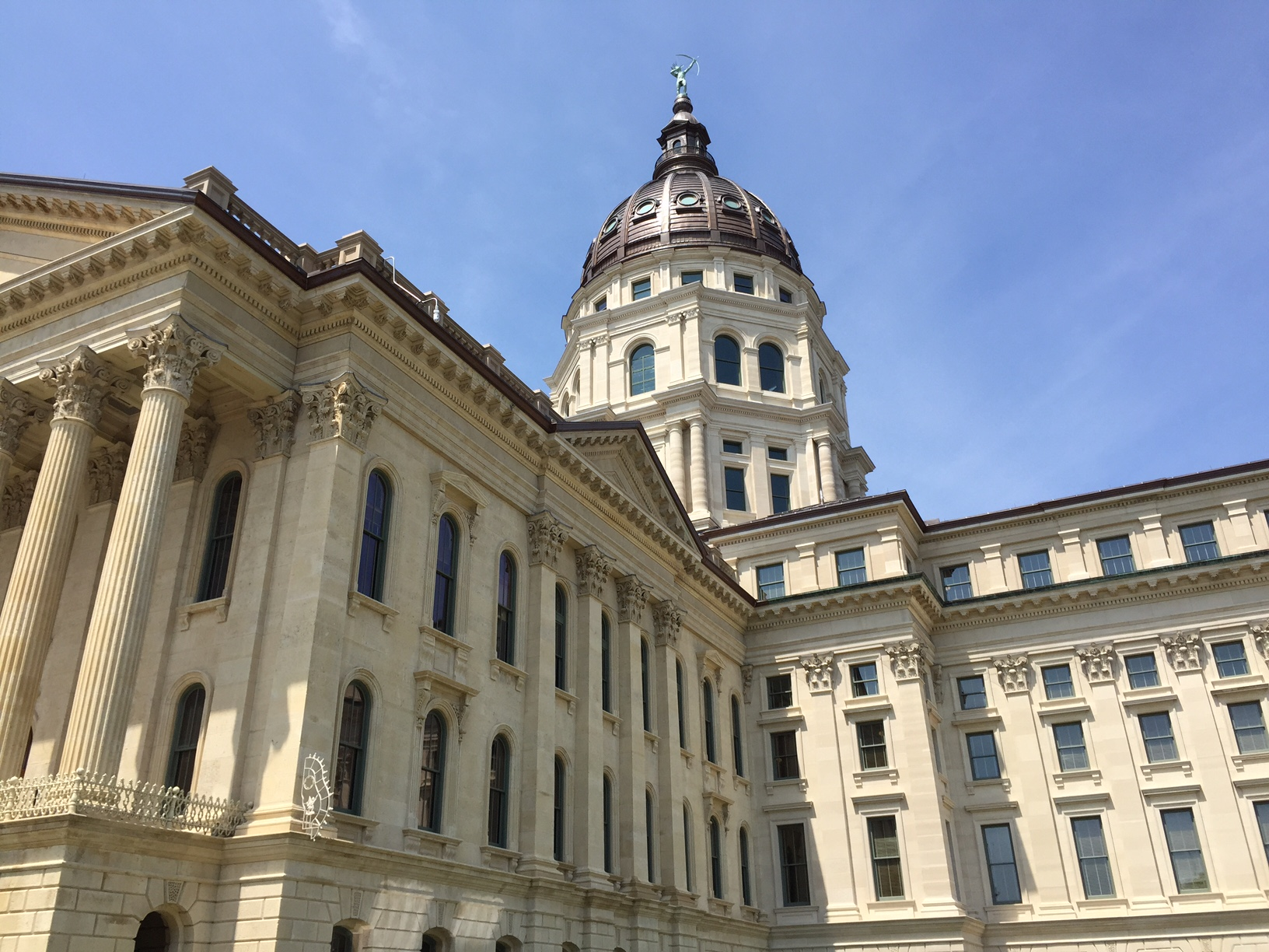 The Kansas Statehouse. (Photo courtesy of the Kansas News Service)